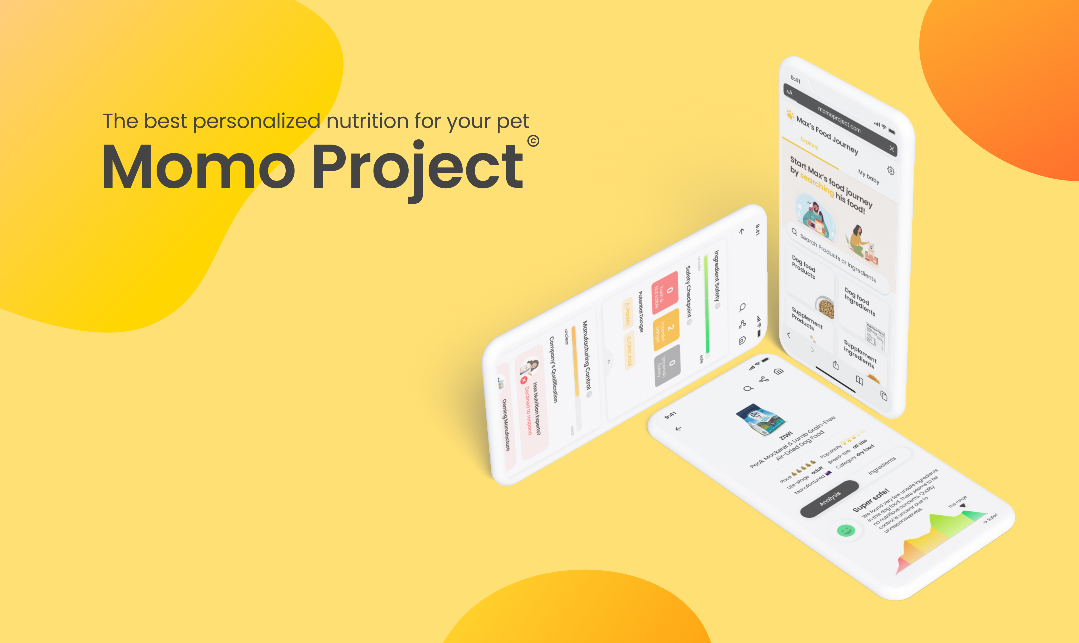 Momo Project Provides Tailored Nutrition for Pets