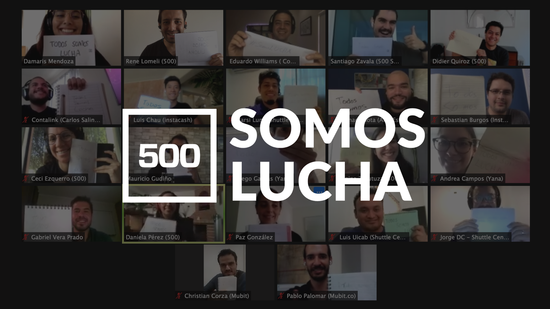 500 Startups Welcomes 7 Companies into Batch 13 of Somos Lucha LatAm