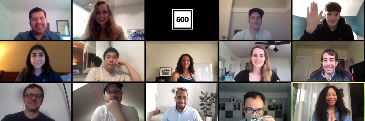 Meet the Startups in 500's First Fully Virtual Accelerator