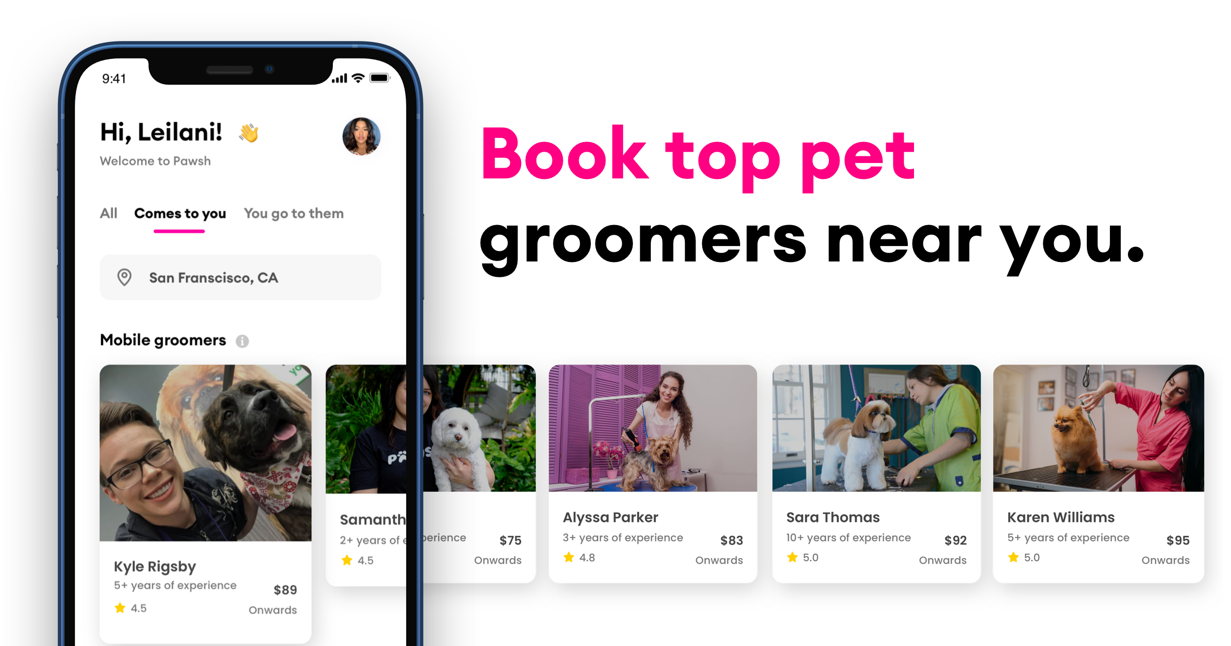 Pawsh is Delivering Pet Grooming Services Anywhere